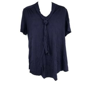 Isabella Oliver Maternity Blouse 1 US 4 Tie Neck